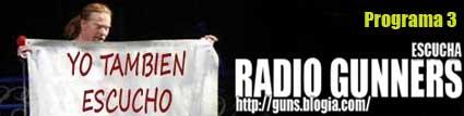 3º PROGRAMA RADIO GUNNERS