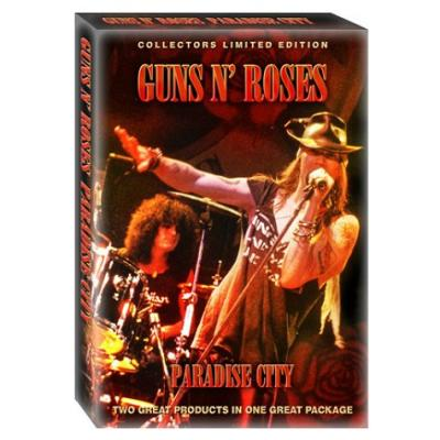 GUNS N ROSES Paradise City 2008 UK 2-disc [DVD/CD]