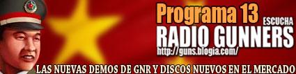 PROGRAMA 13 RADIO GUNNERS