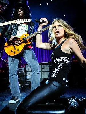 Fergie con Slash - Sweet Child O' Mine Live