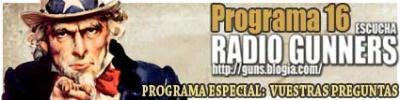 PROGRAMA 16 RADIO GUNNERS