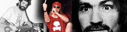 Charles Manson y Axl Rose Dueto